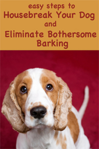 Easy Steps to Housebreak Your Dog and Eliminate Bothersome Barking