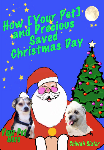 Christmas eBook Cover Personalized for Your Pet