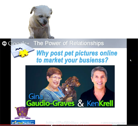 Why Post Pet Pictures On the Internet to Market Your Business?