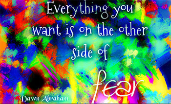 Dawn Abraham Pay It Forward graphic
