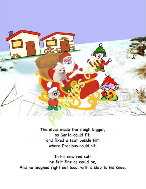 Elves made sleigh bigger Watermarked 72dpi