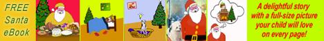 Santa eBook Banner 468x60px