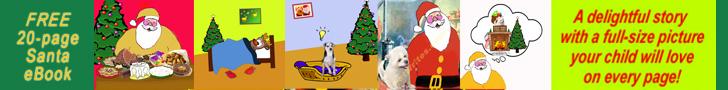 Santa eBook Banner 728x90px