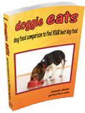 doggie eats cover transparet