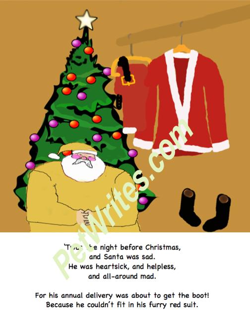 Santa in closet watermarked 72dpi